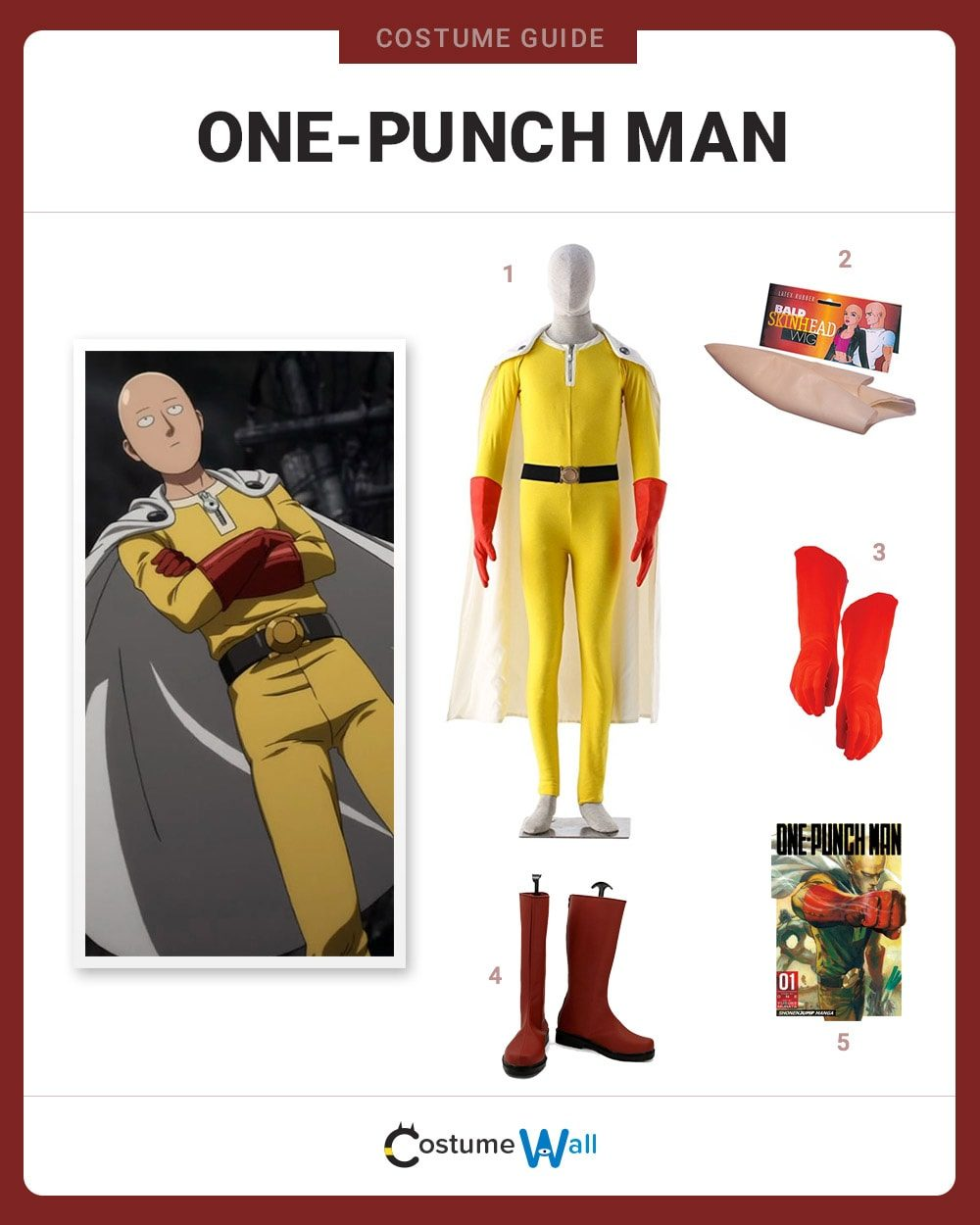 One-Punch Man Costume Guide