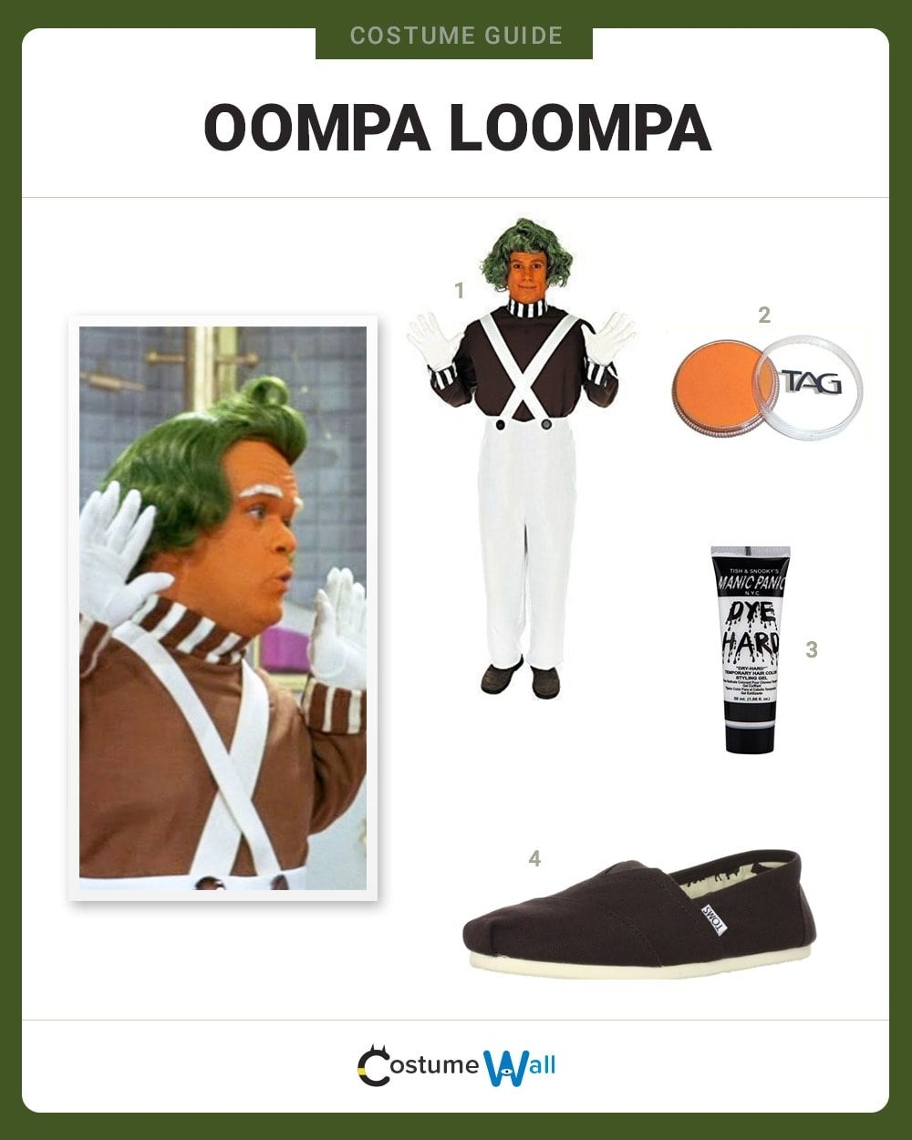 Oompa Loompa Costume Guide