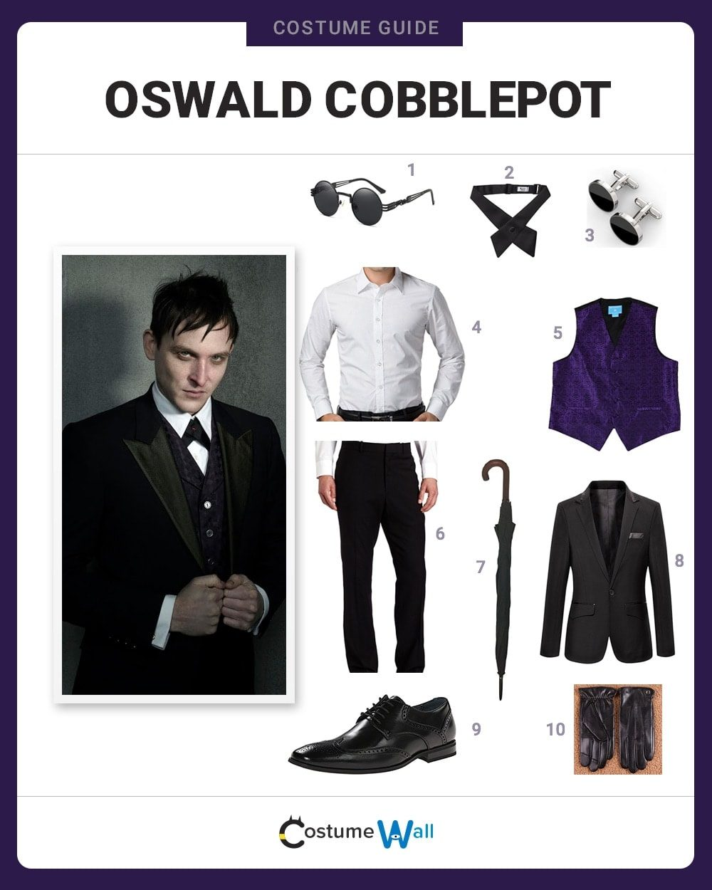 Oswald Cobblepot Costume Guide