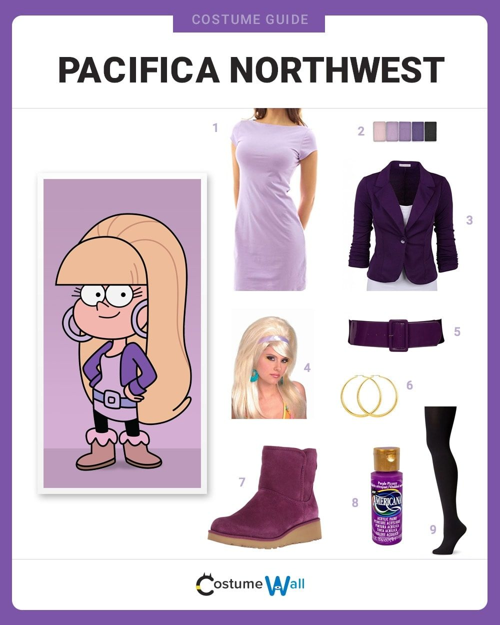 Pacifica Northwest Costume Guide