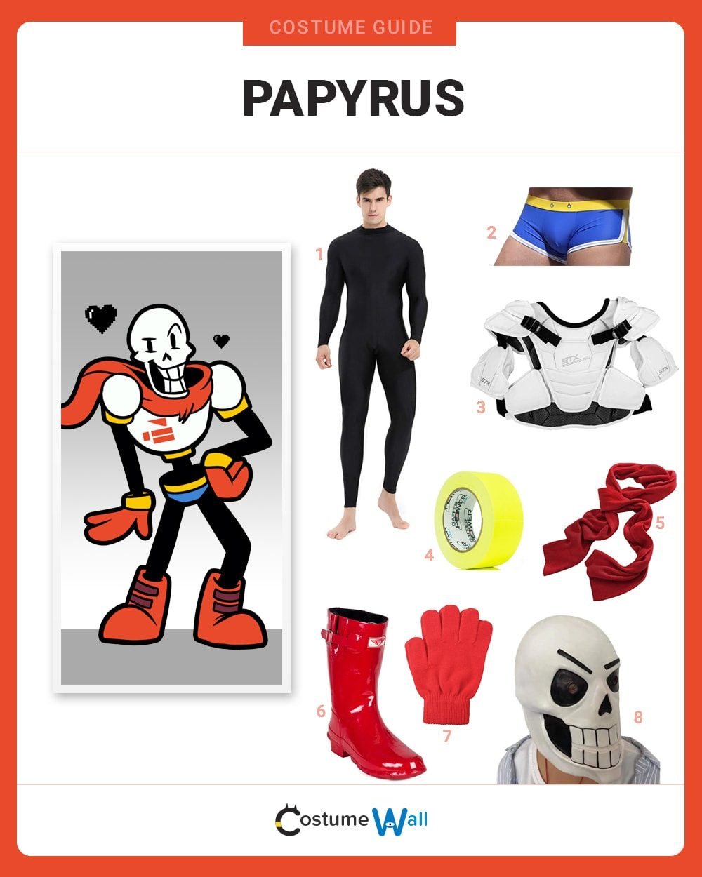 Papyrus Costume Guide