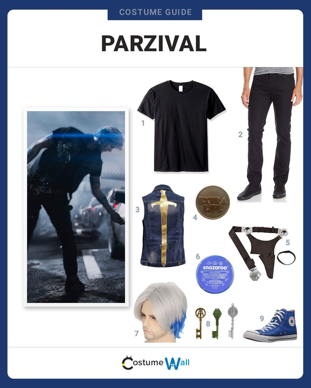 Parzival Costume Guide