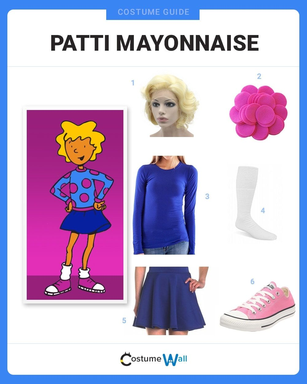 Patti Mayonnaise Costume Guide