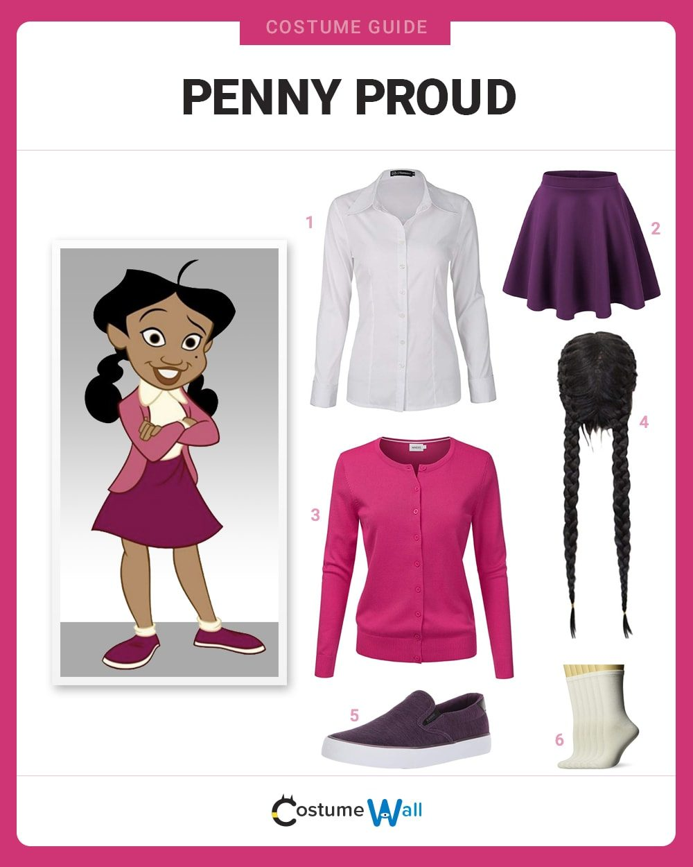 Penny Proud Costume Guide