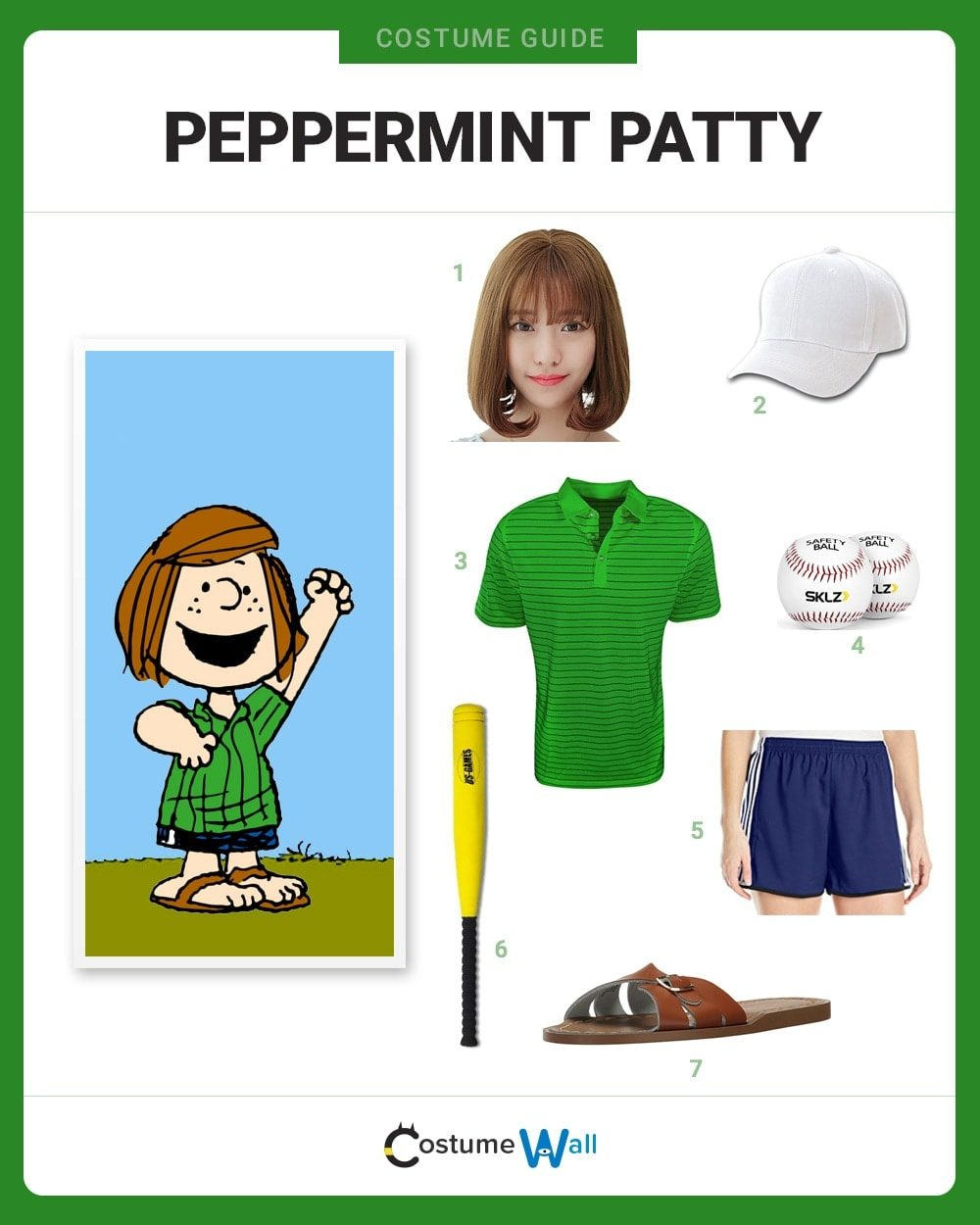 Peppermint Patty Costume Guide