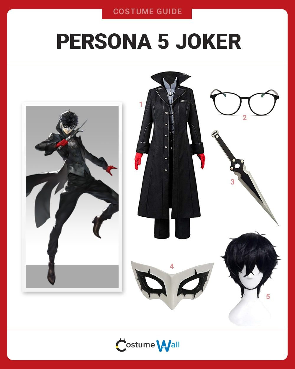 Persona 5 Joker Costume Guide