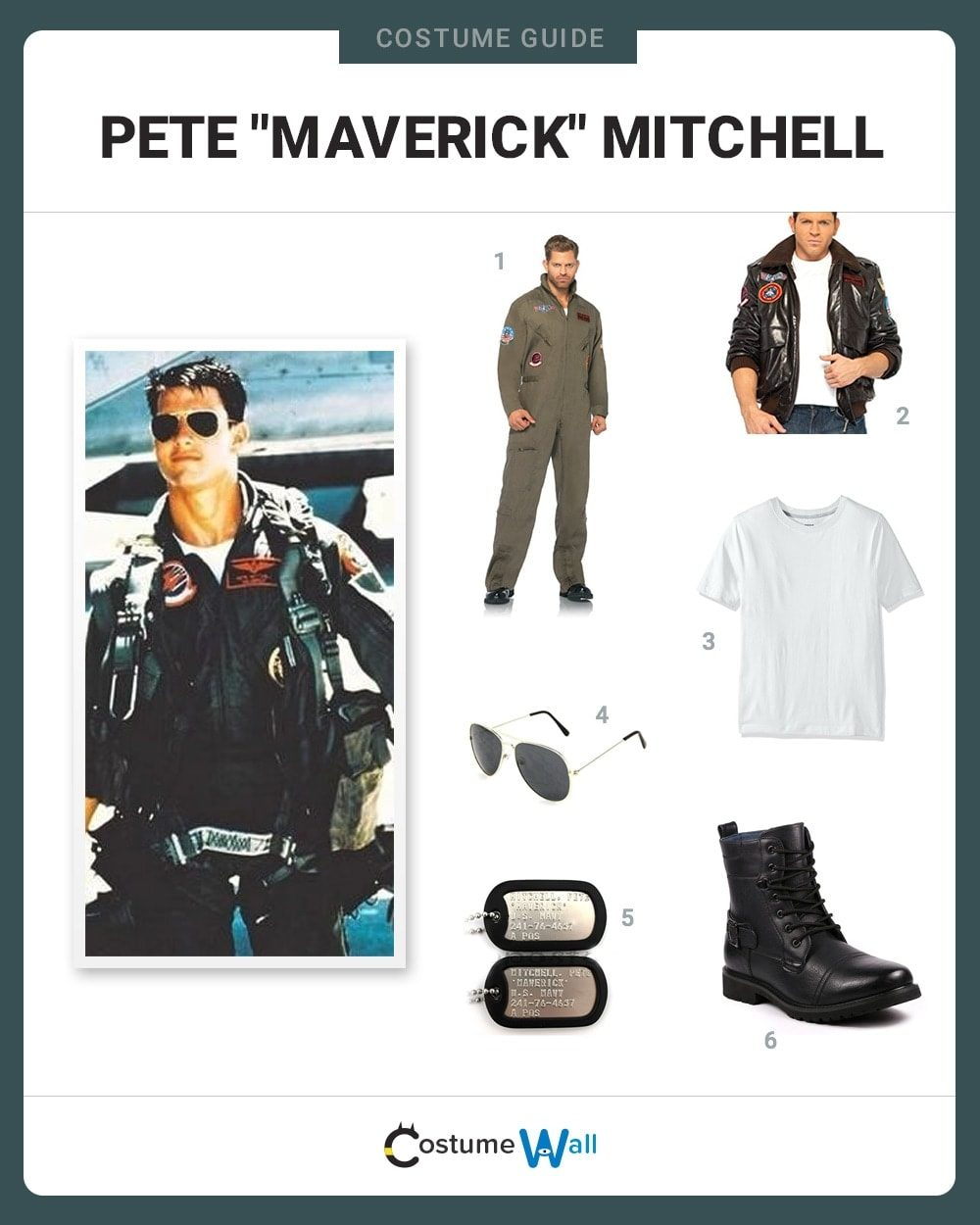 Maverick Mitchell Costume Guide