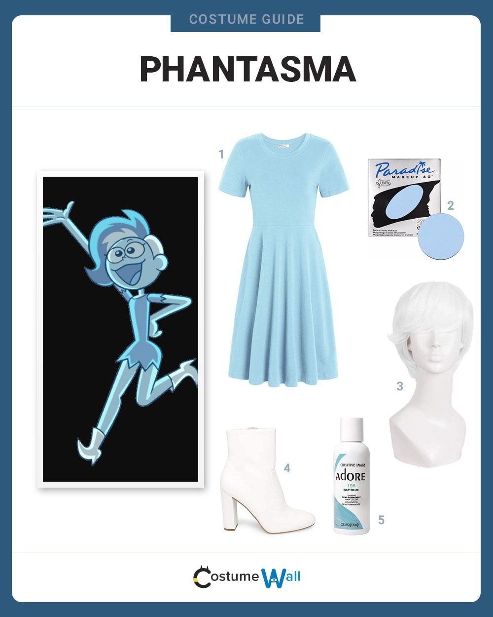Phantasma Costume Guide