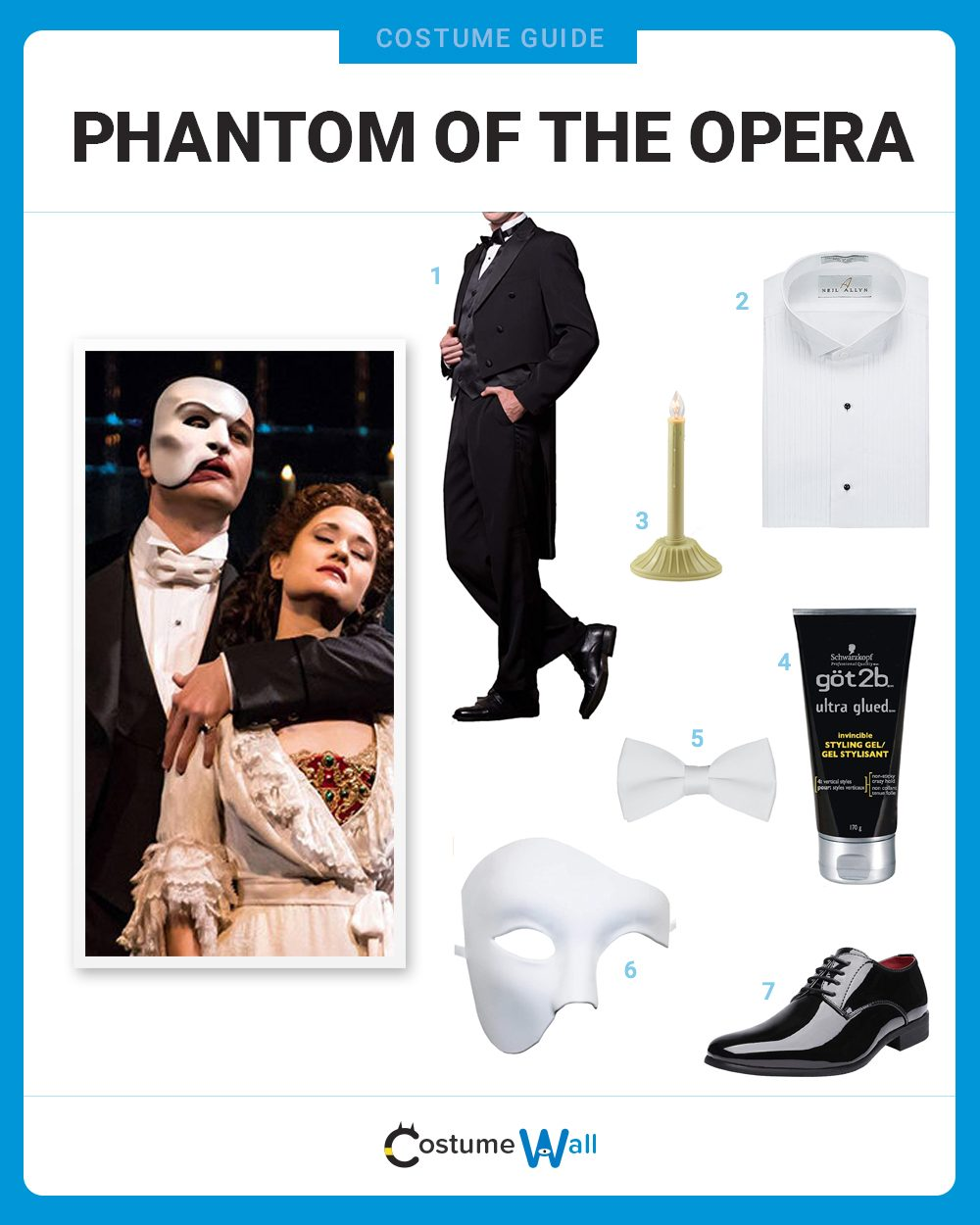 Phantom of the Opera Costume Guide