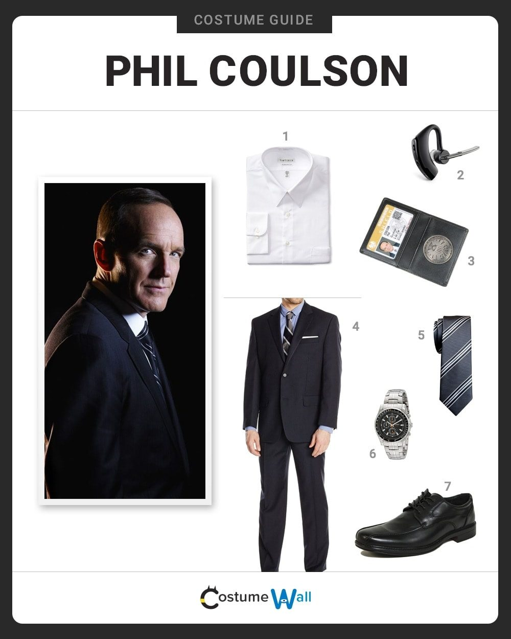 Phil Coulson  Costume Guide