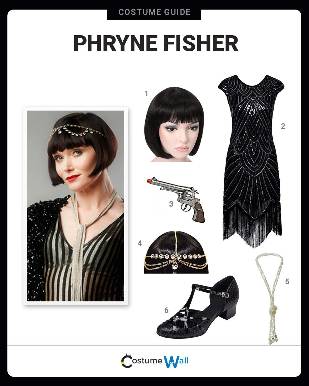 Phryne Fisher Costume Guide