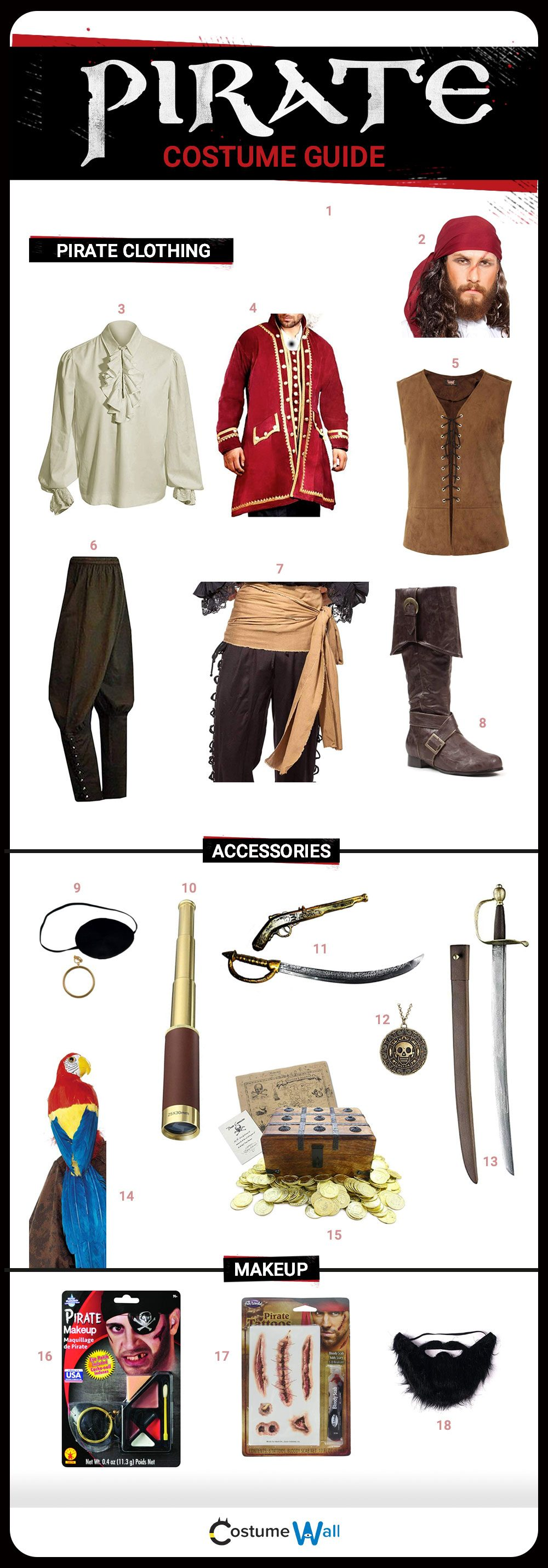 Pirate Costume Guide