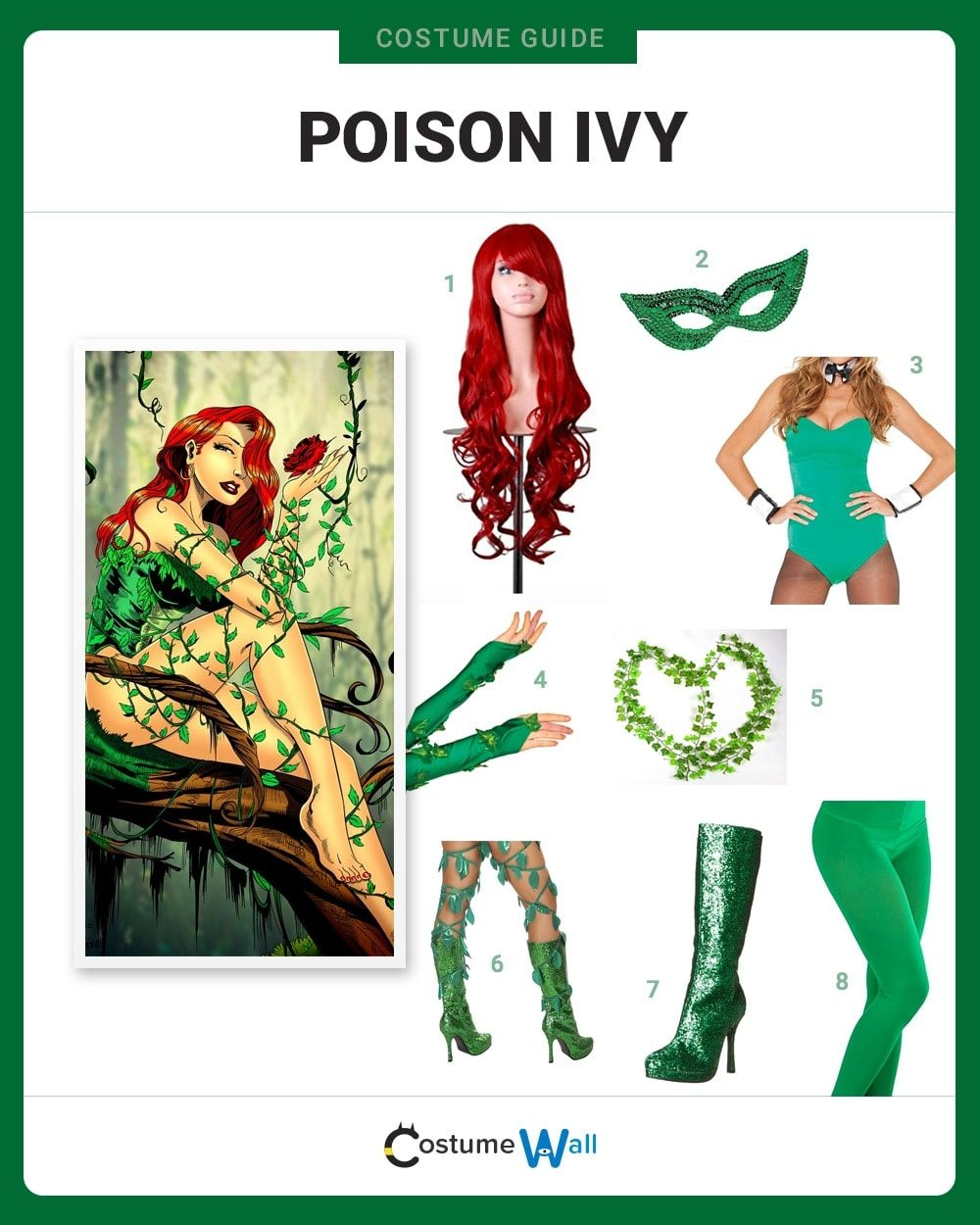 Poison Ivy Costume Guide