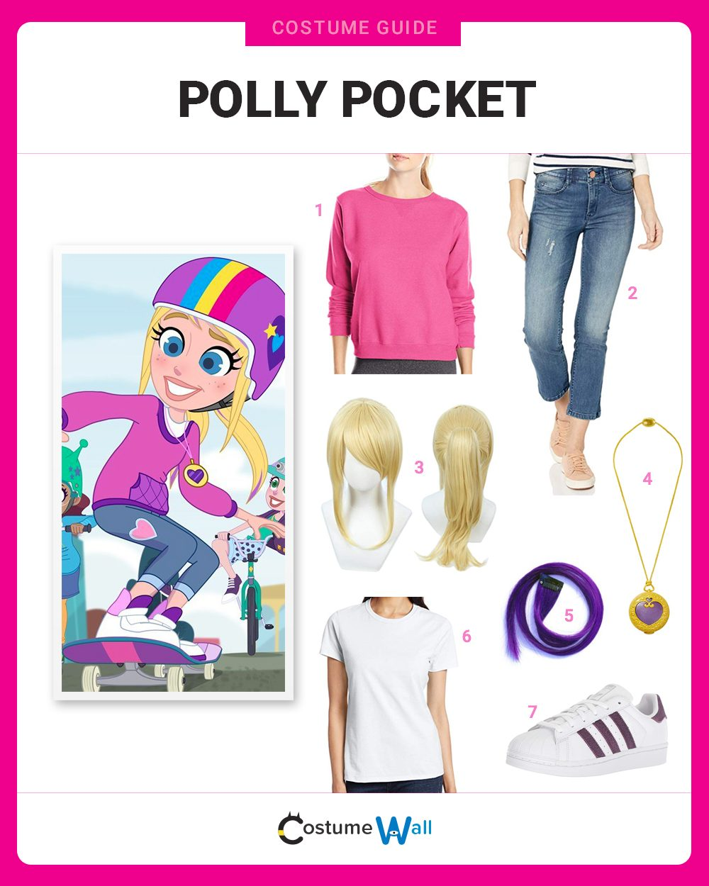 Polly Pocket Costume Guide