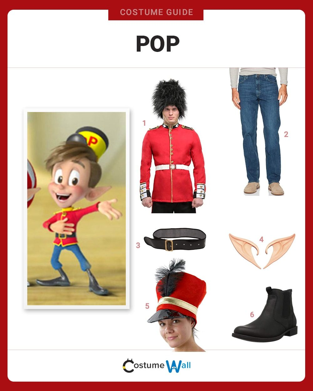 Pop Costume Guide