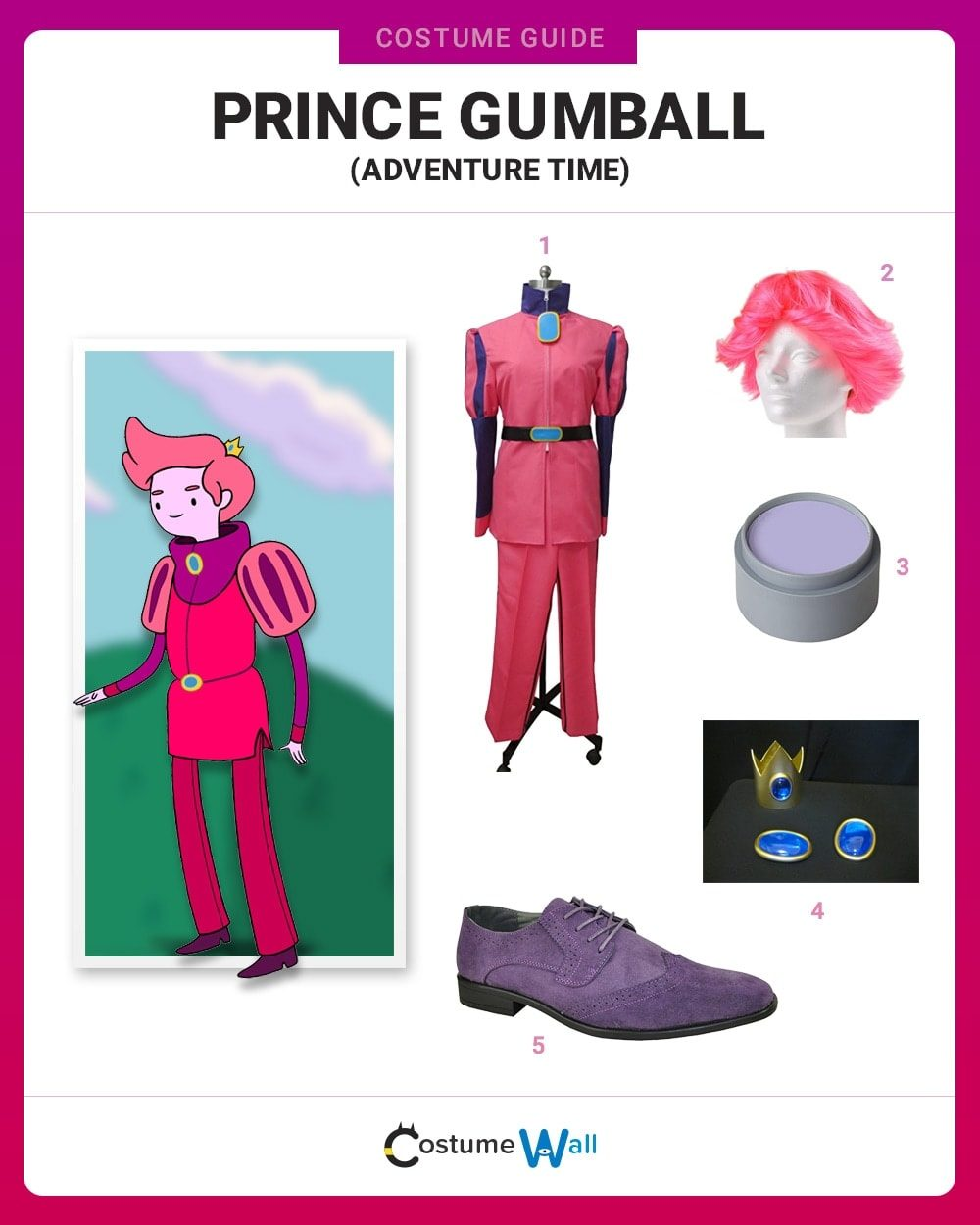 Prince Gumball Costume Guide