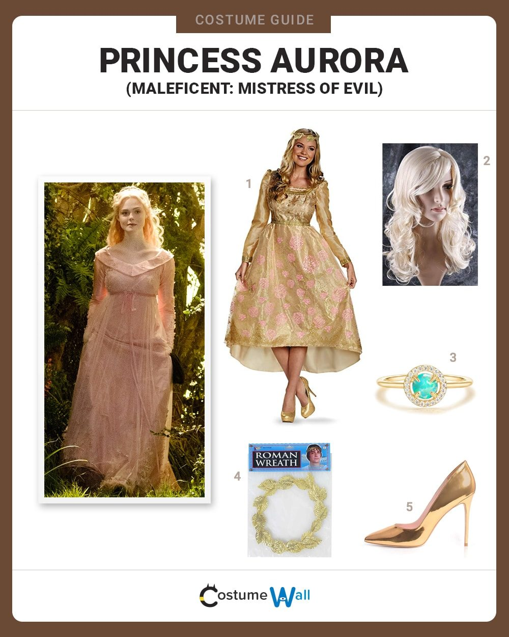 Princess Aurora Costume Guide