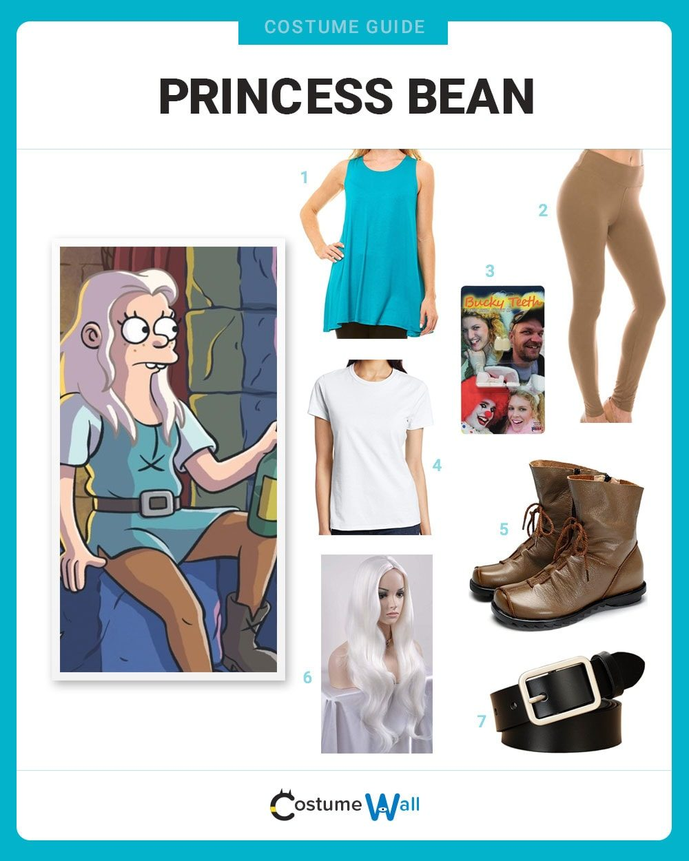 Princess Bean Costume Guide