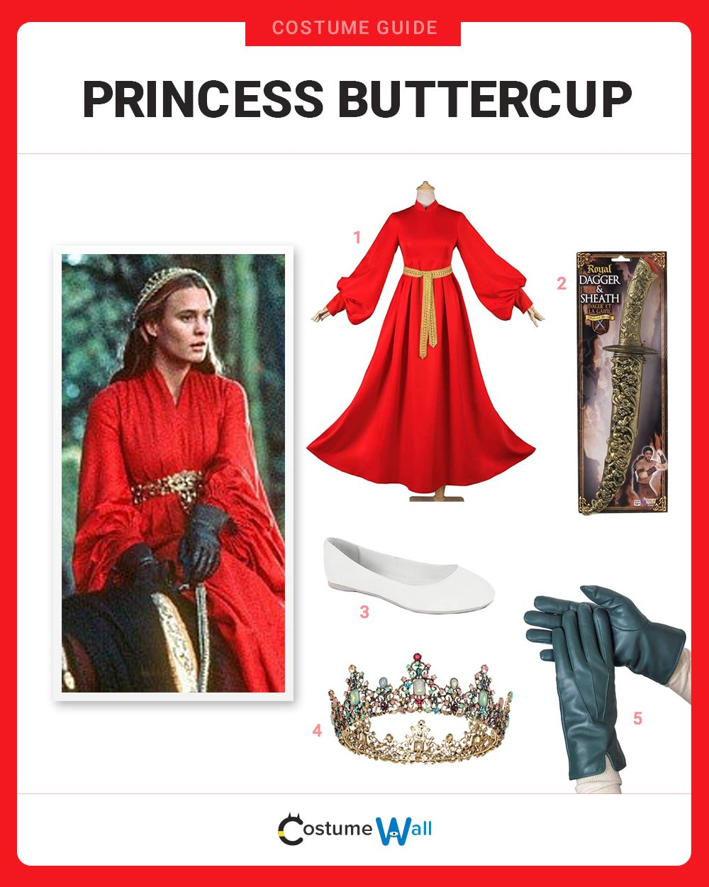 Princess Buttercup Costume Guide