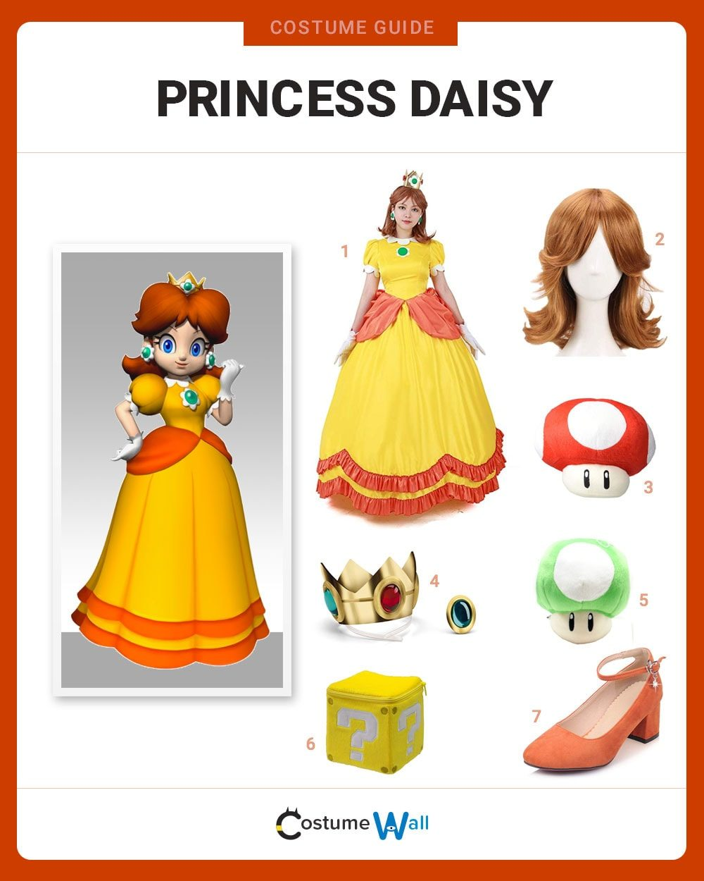 Princess Daisy Costume Guide