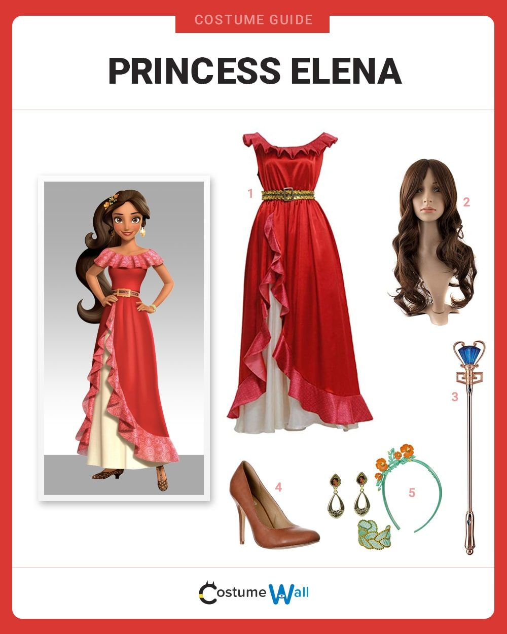 Princess Elena Costume Guide