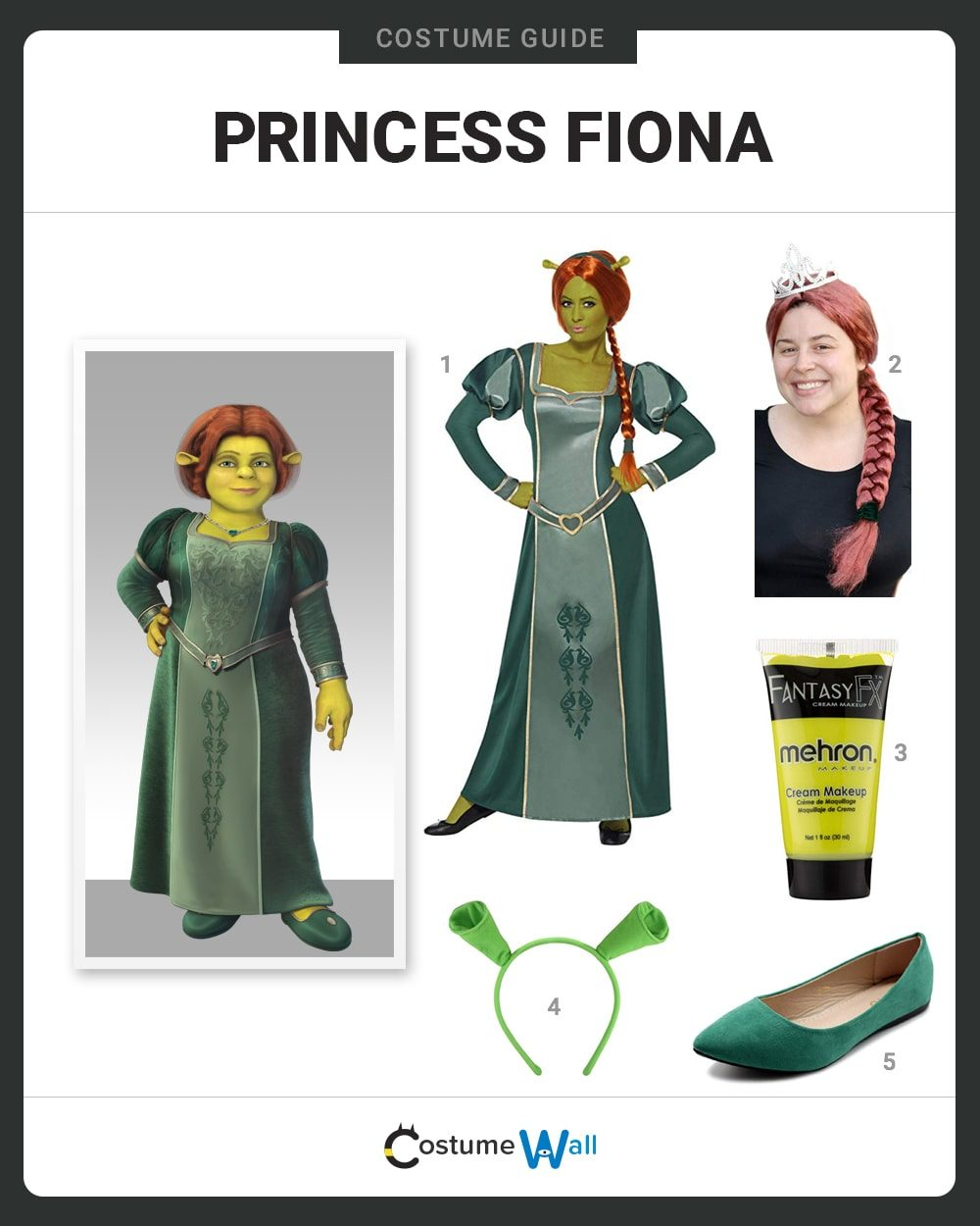 Princess Fiona Costume Guide