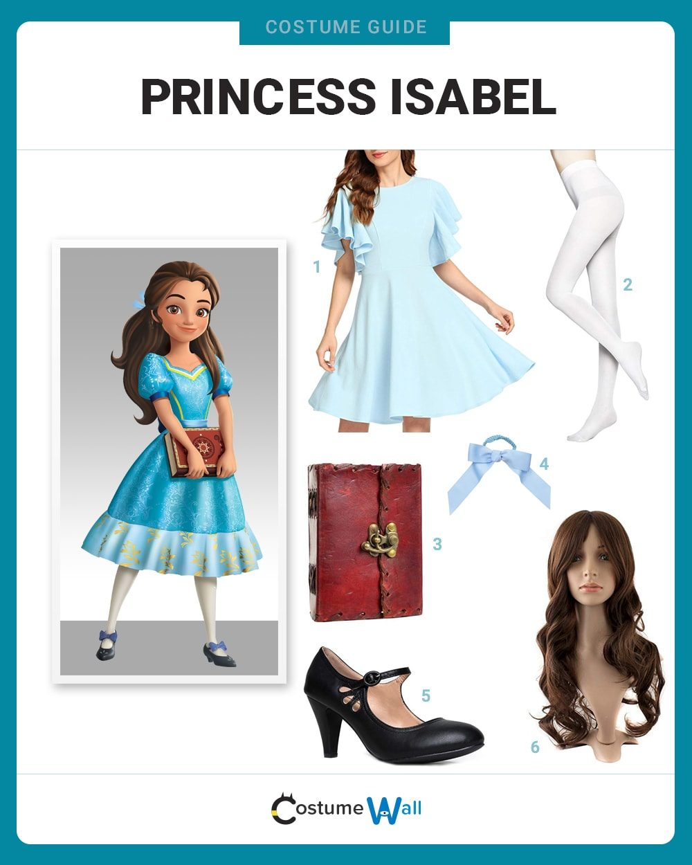 Princess Isabel Costume Guide