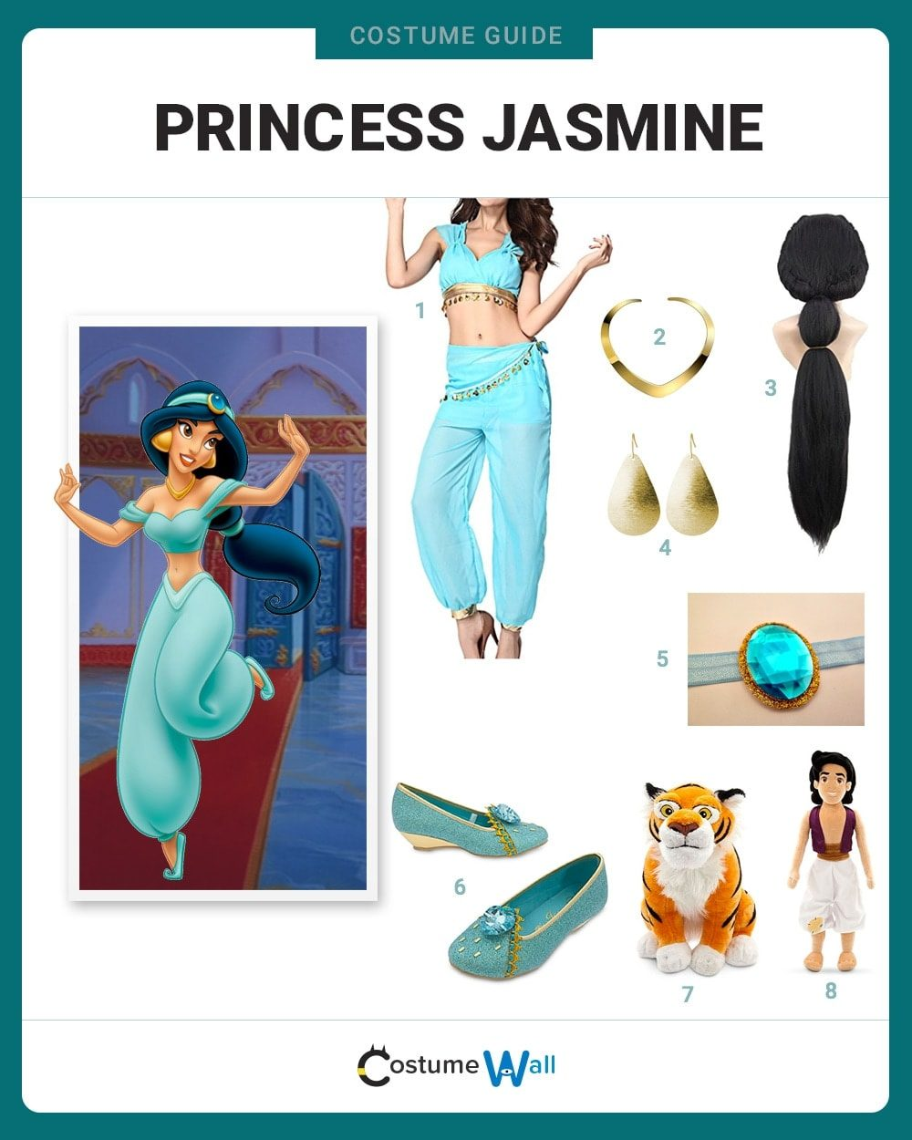 Princess Jasmine Costume Guide