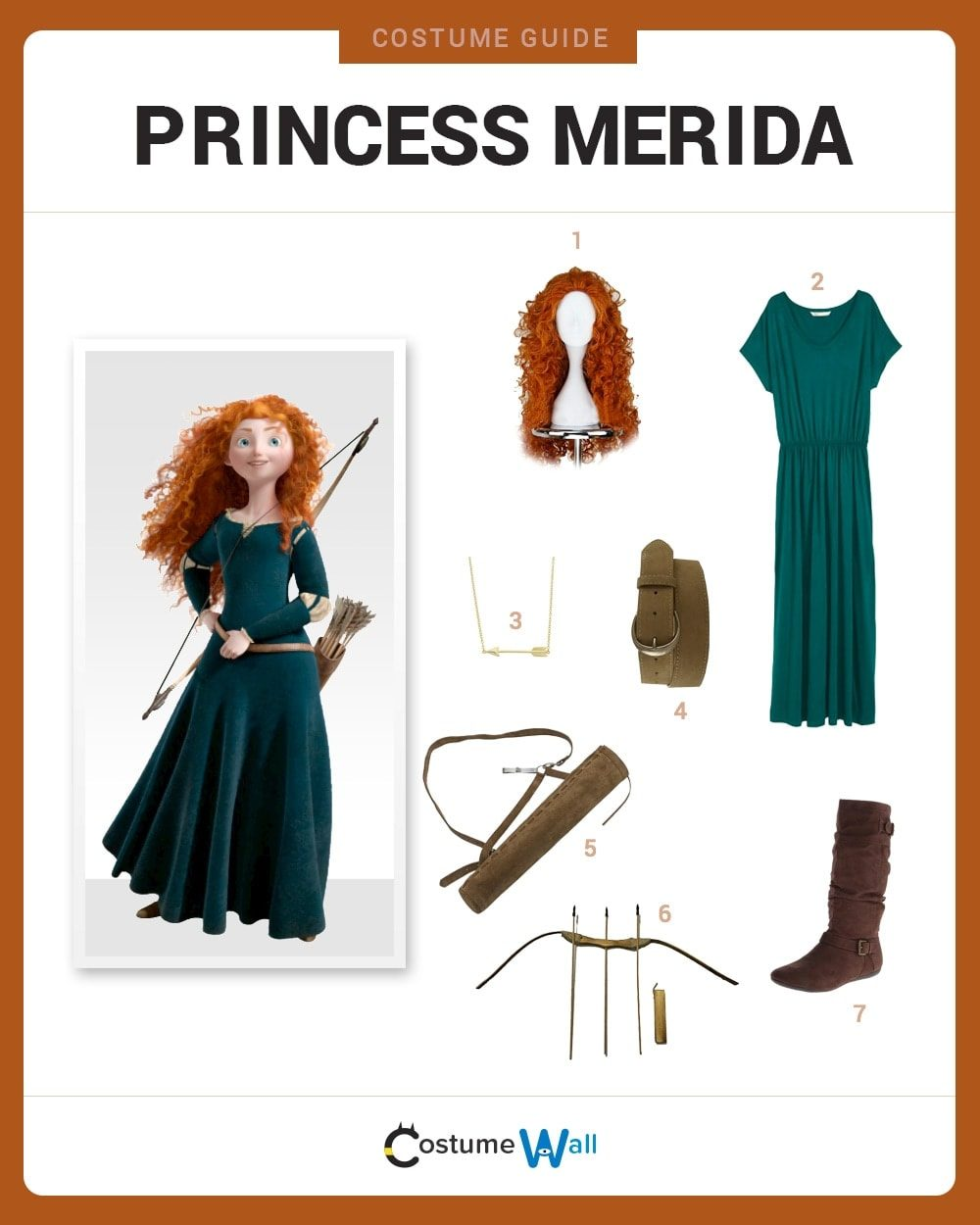 Princess Merida Costume Guide