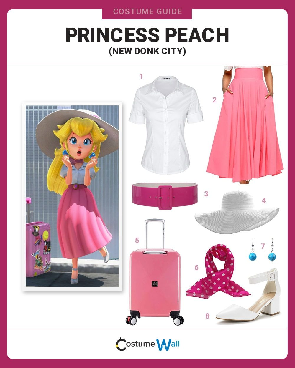 Princess Peach Costume Guide