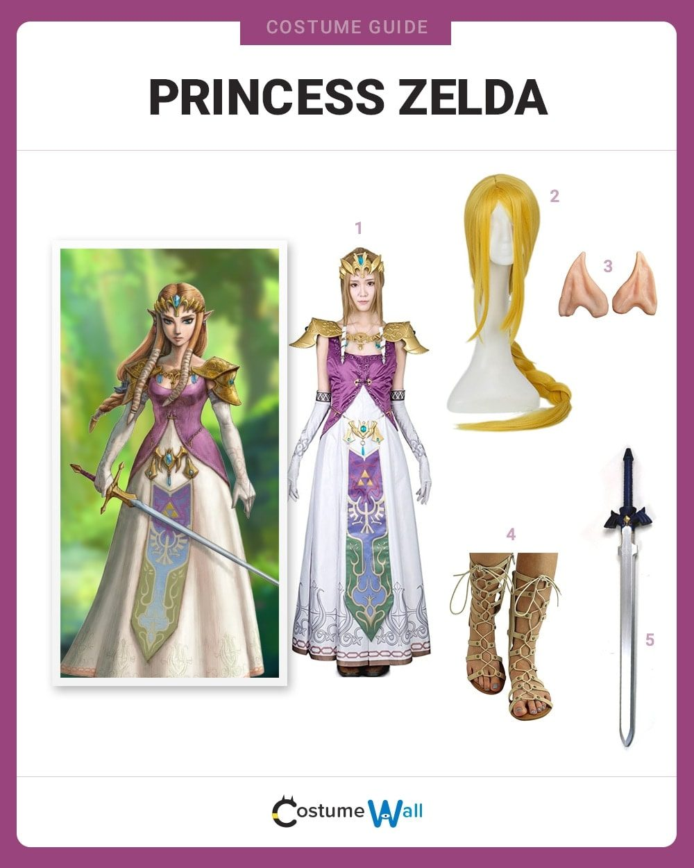 Dress Like Princess Zelda Costume Halloween And Cosplay Guides