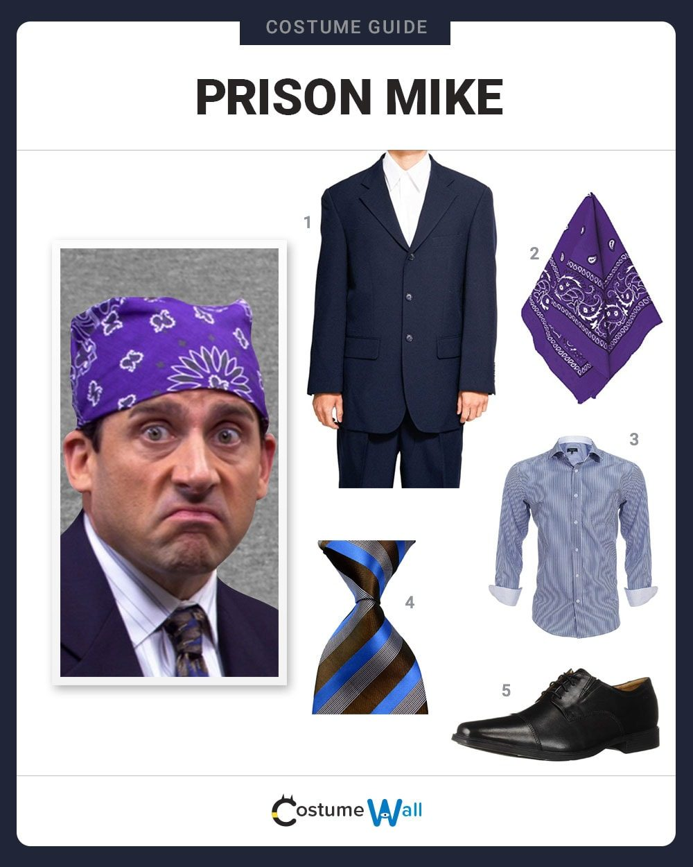 Prison Mike  Costume Guide