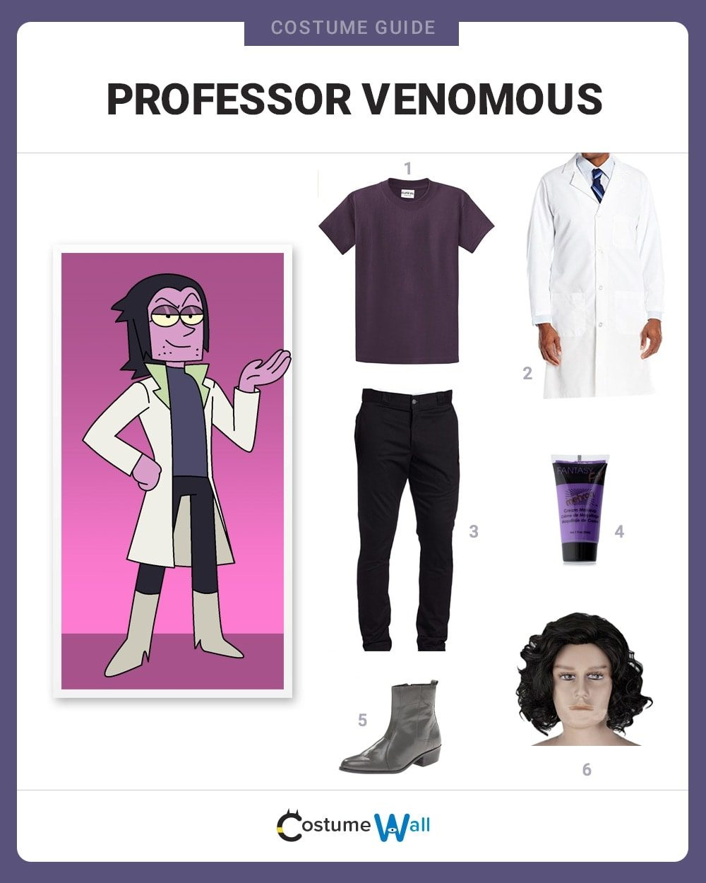Professor Venomous Costume Guide