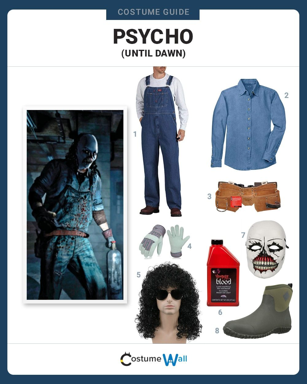 Psycho Costume Guide