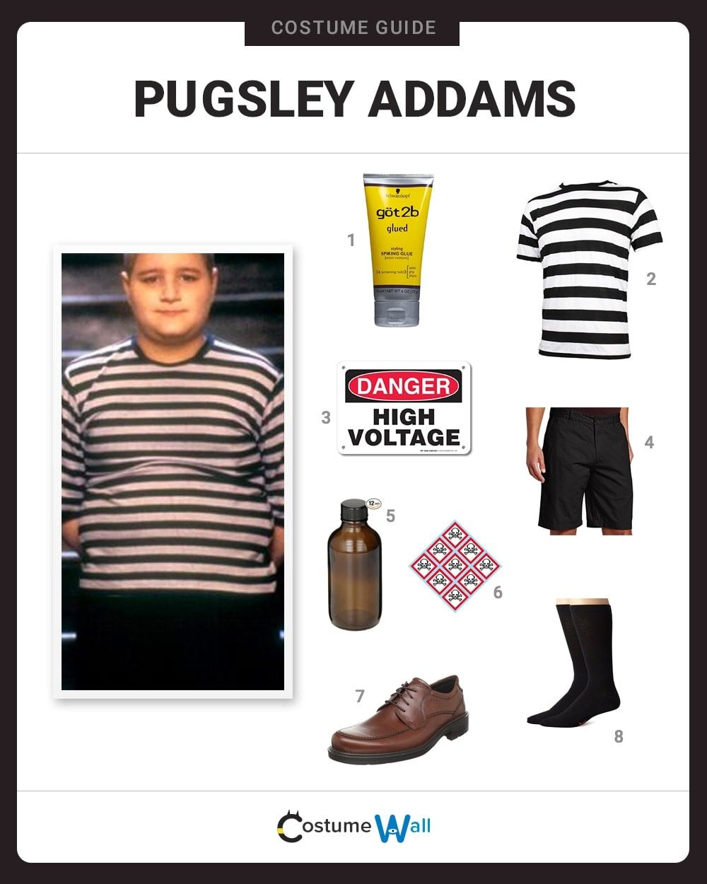 Pugsley Addams Costume Guide