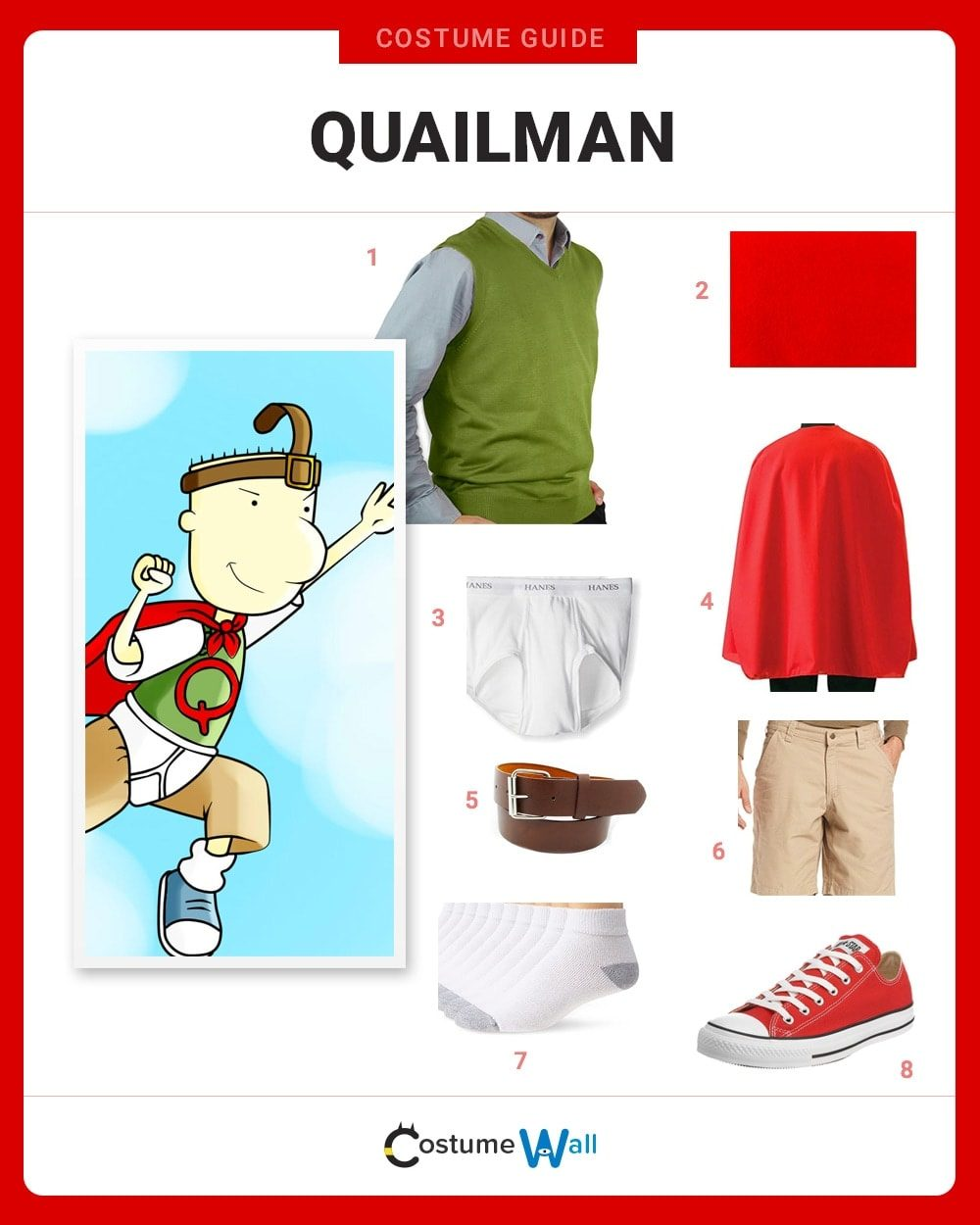 Quailman Costume Guide