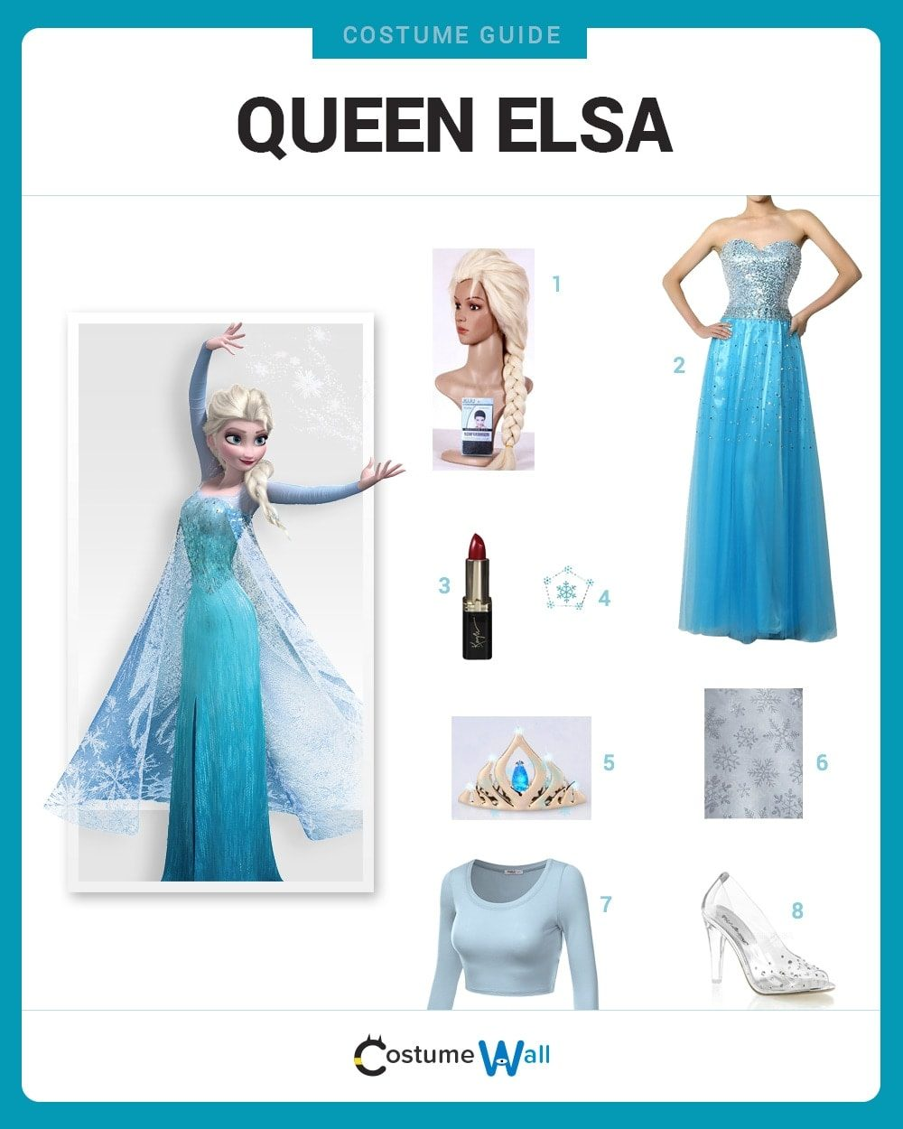 Queen Elsa Costume Guide