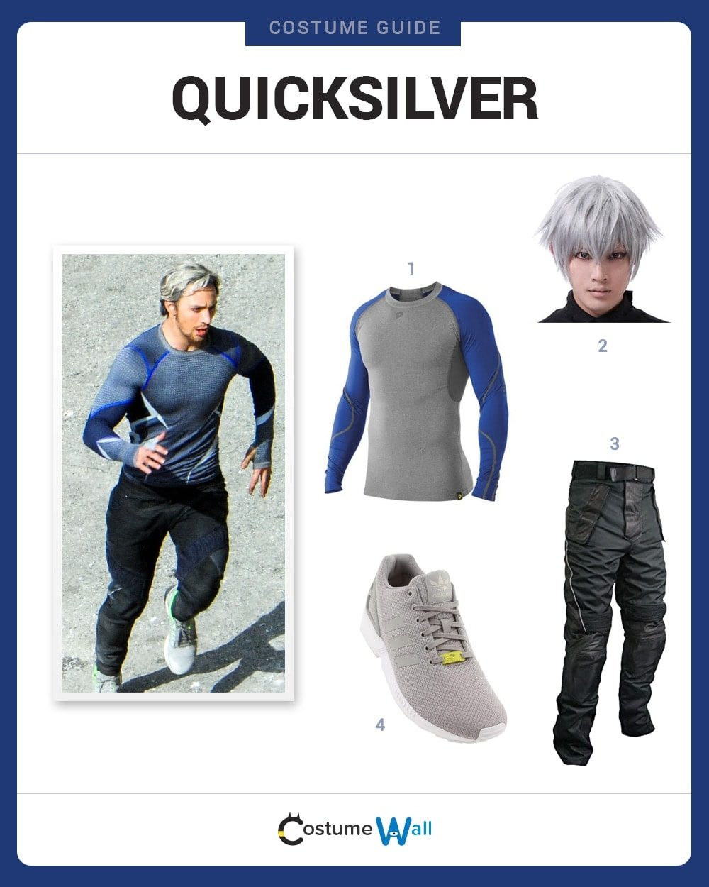 Quicksilver Costume Guide