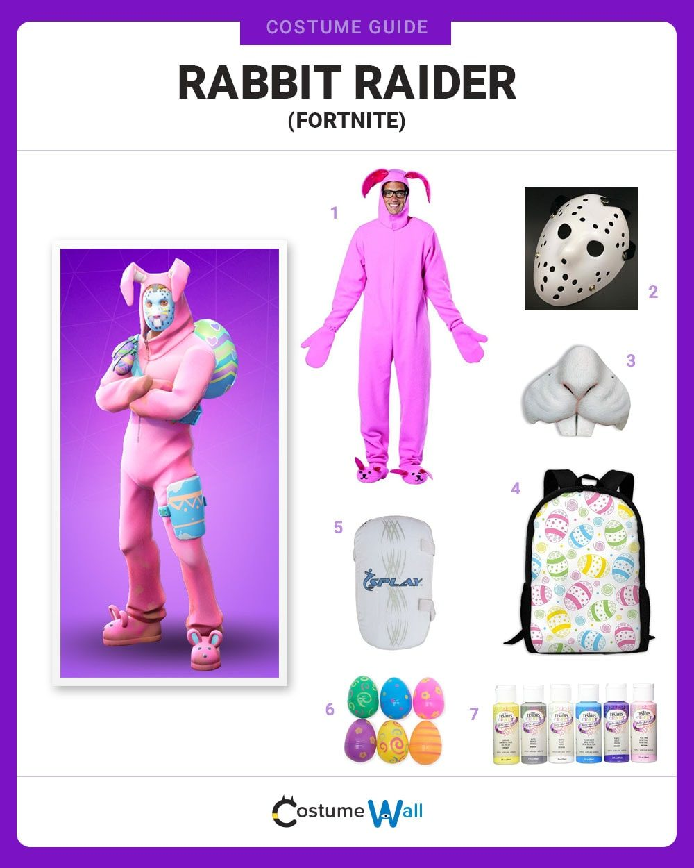 Rabbit Raider Costume Guide
