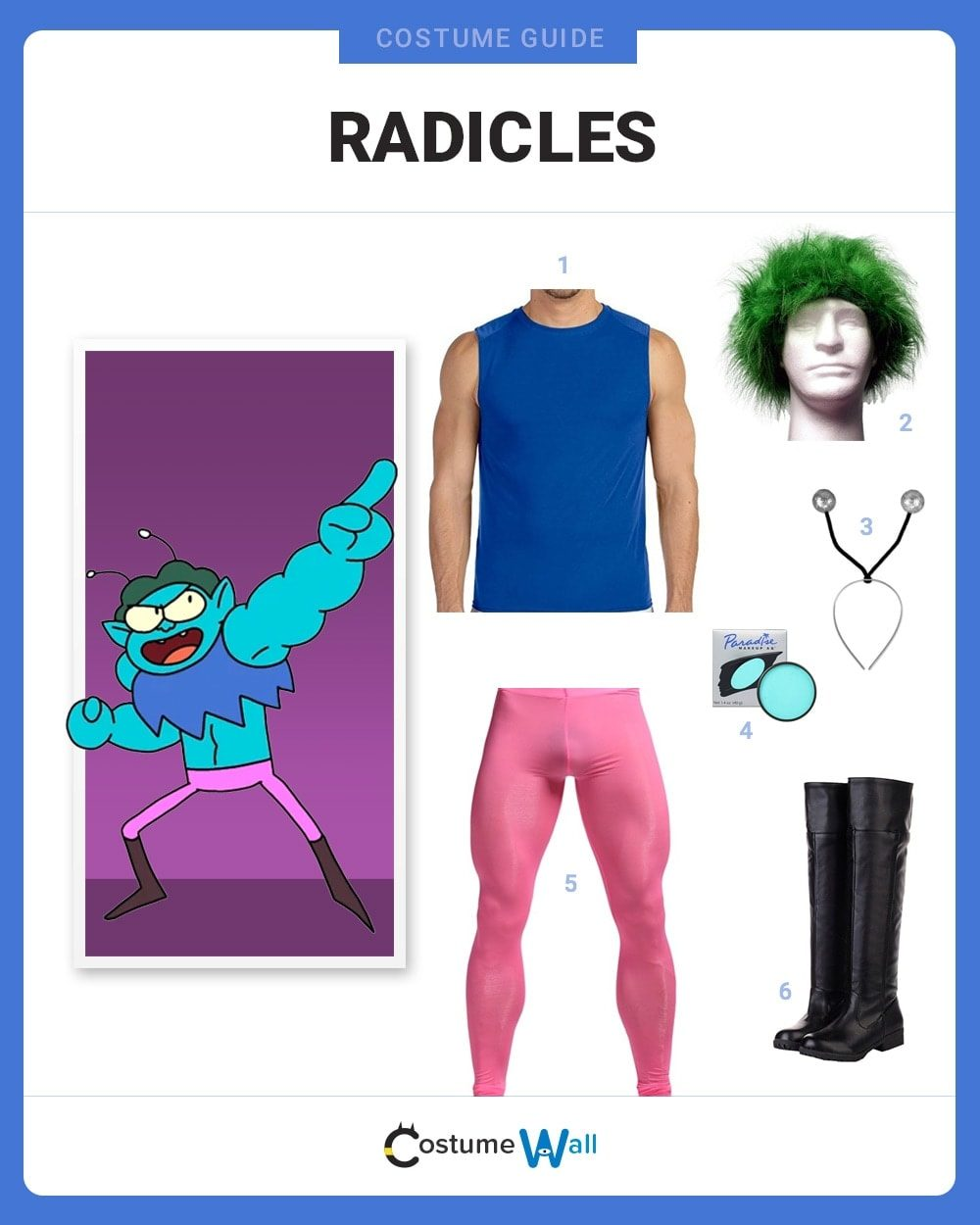 Radicles Costume Guide