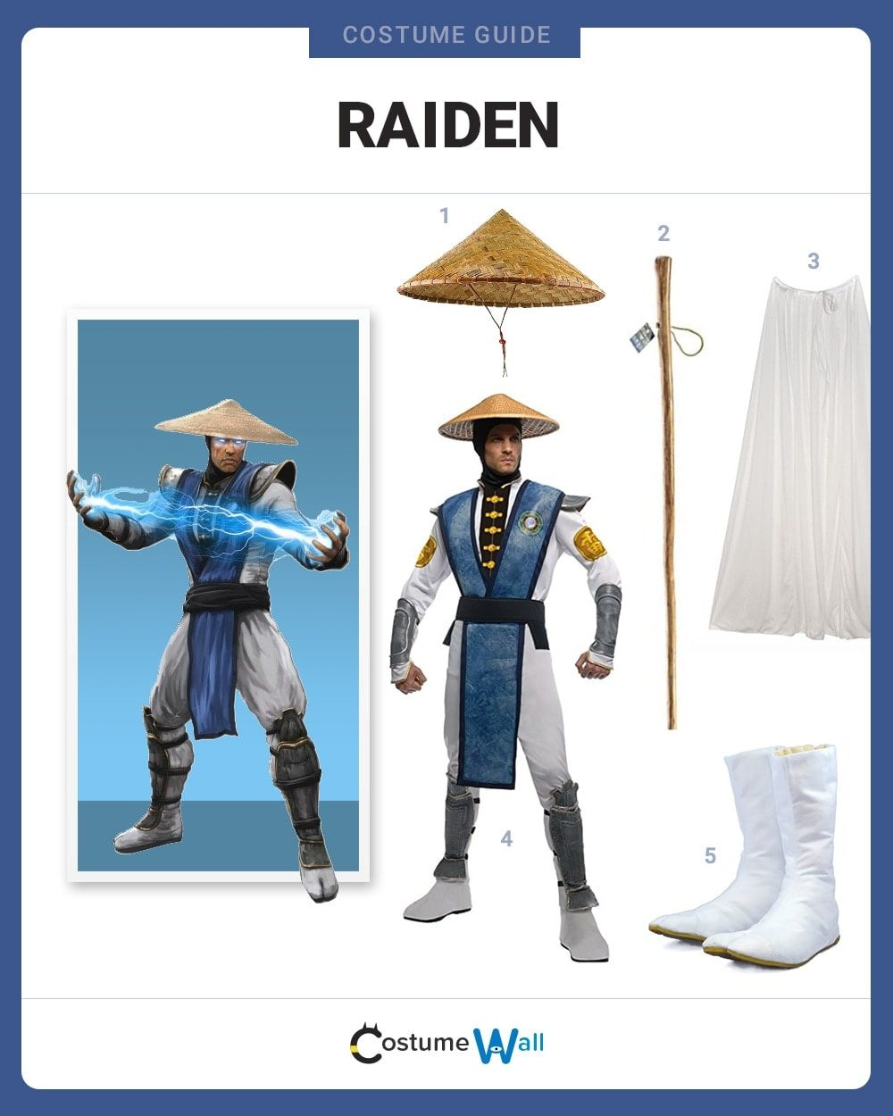 Dress Like Raiden Costume Halloween And Cosplay Guides