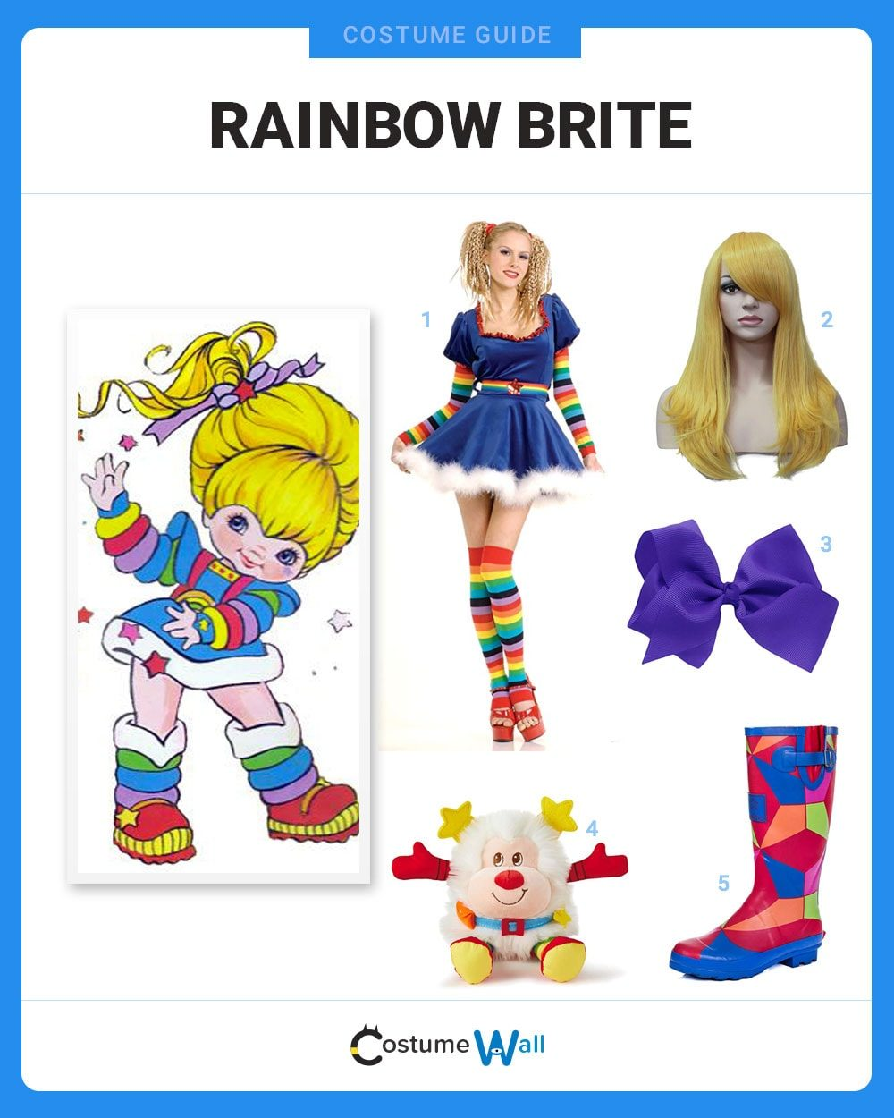 Rainbow Brite Costume Guide