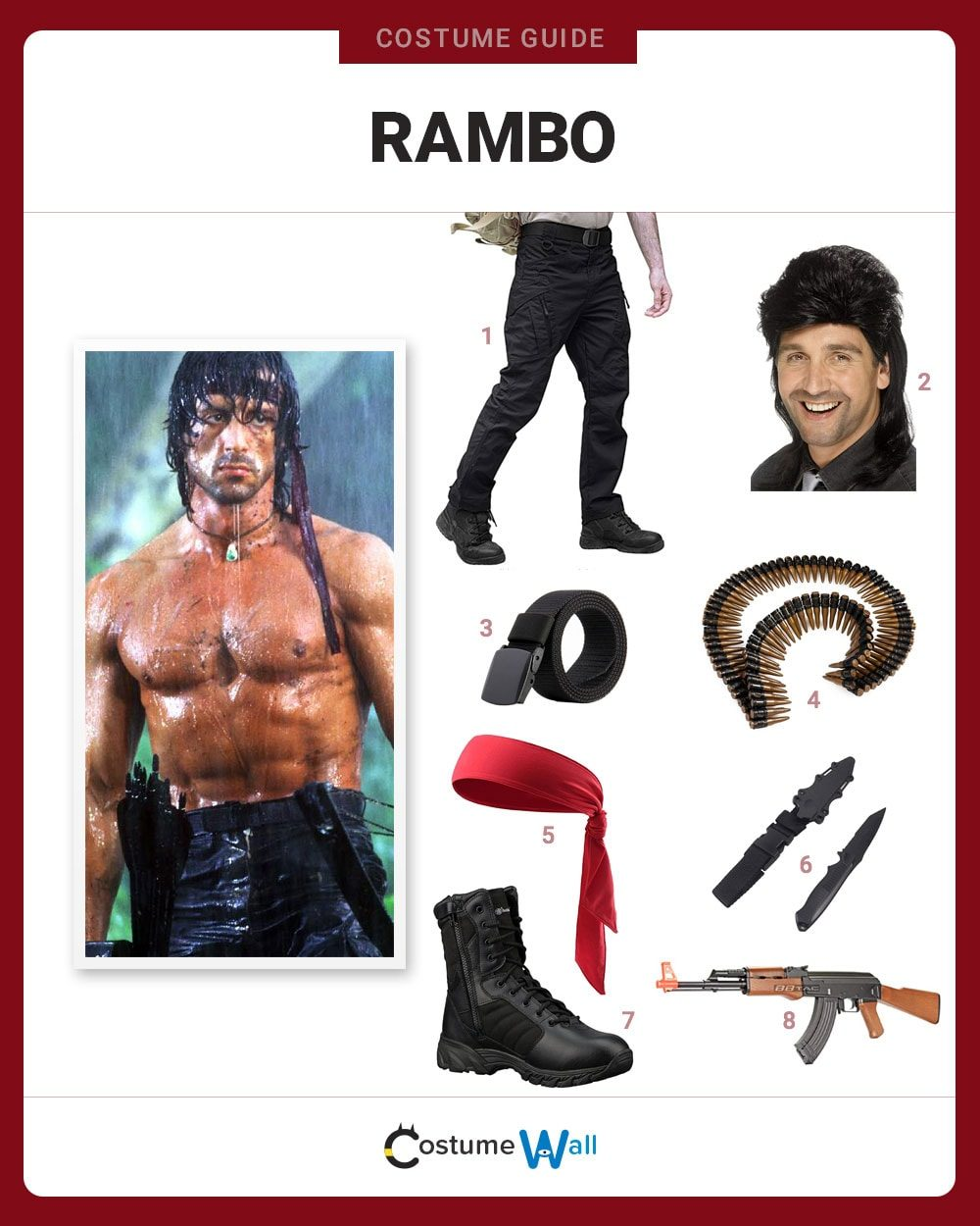 Rambo Costume Guide