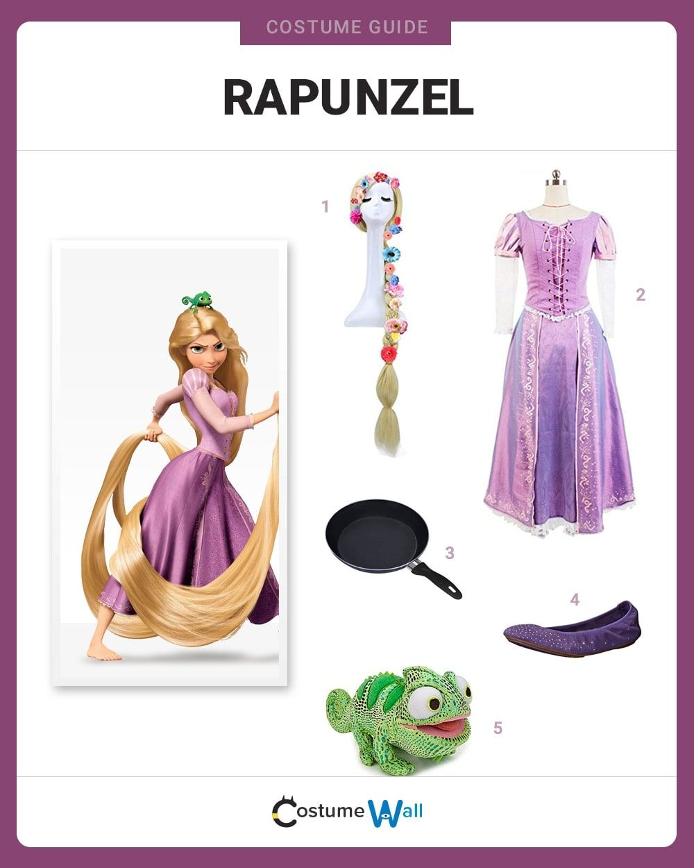 Dress Like Rapunzel Costume Halloween And Cosplay Guides