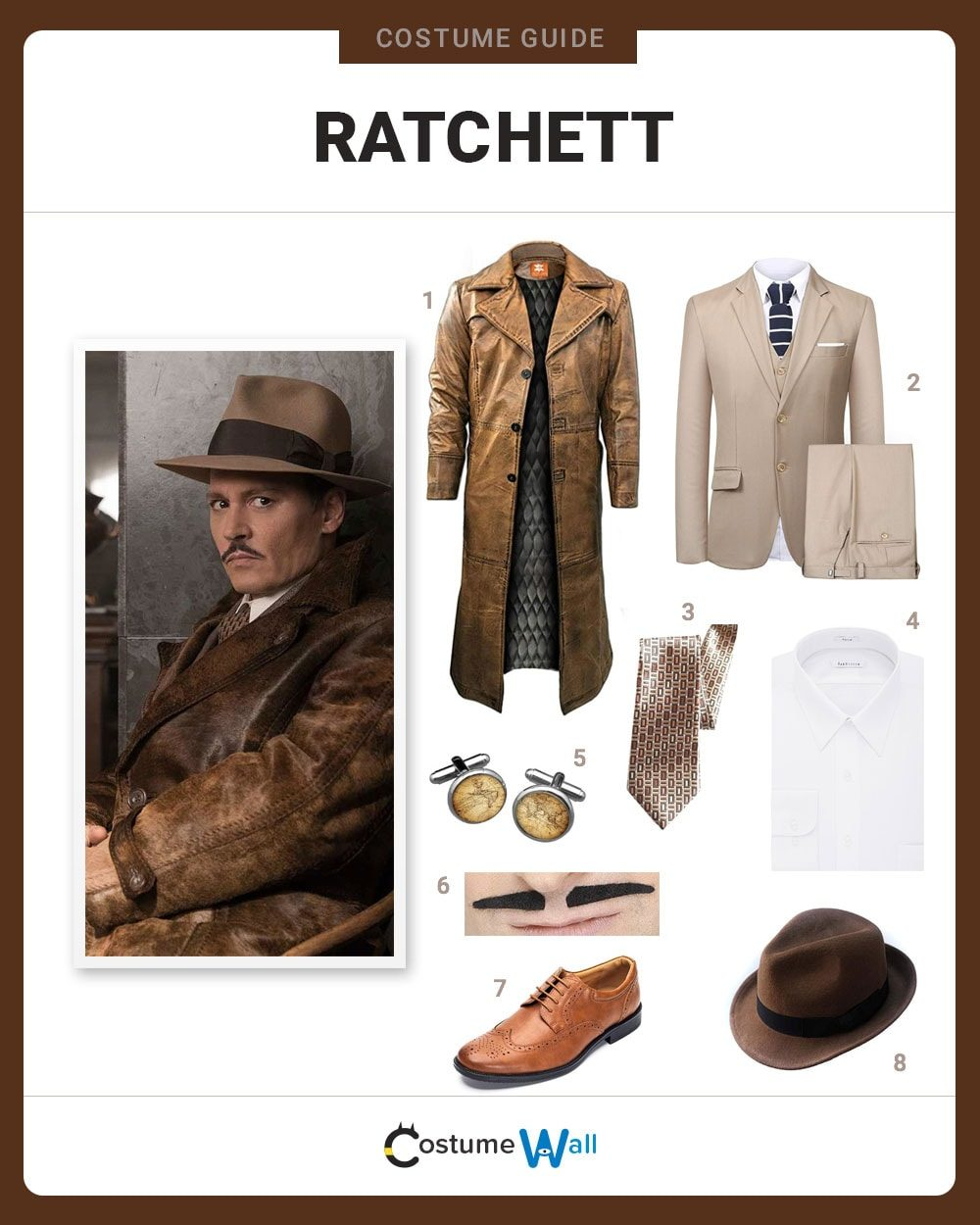 Edward Ratchett Costume Guide