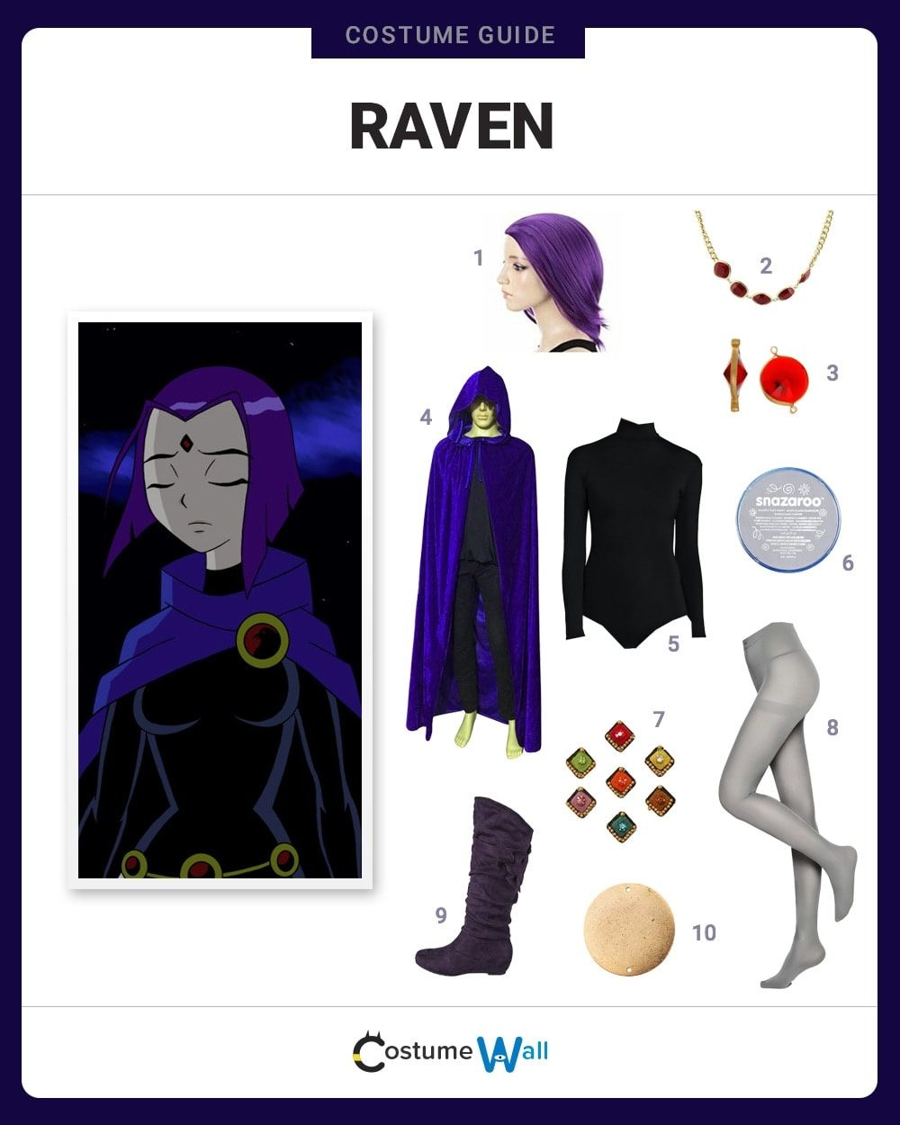 Dress Like Raven Costume  Halloween And Cosplay Guides-6740