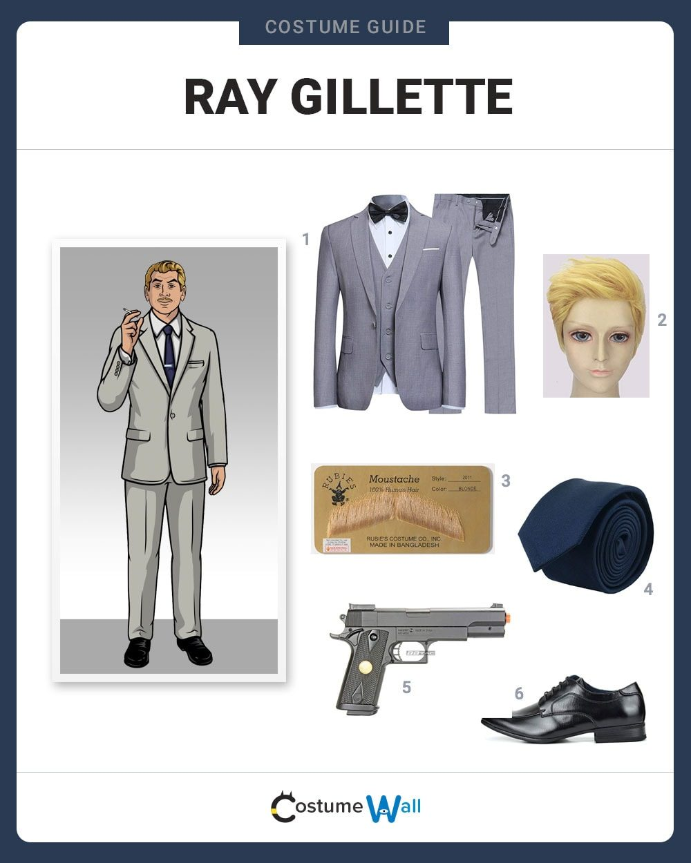 Ray Gillette Costume Guide