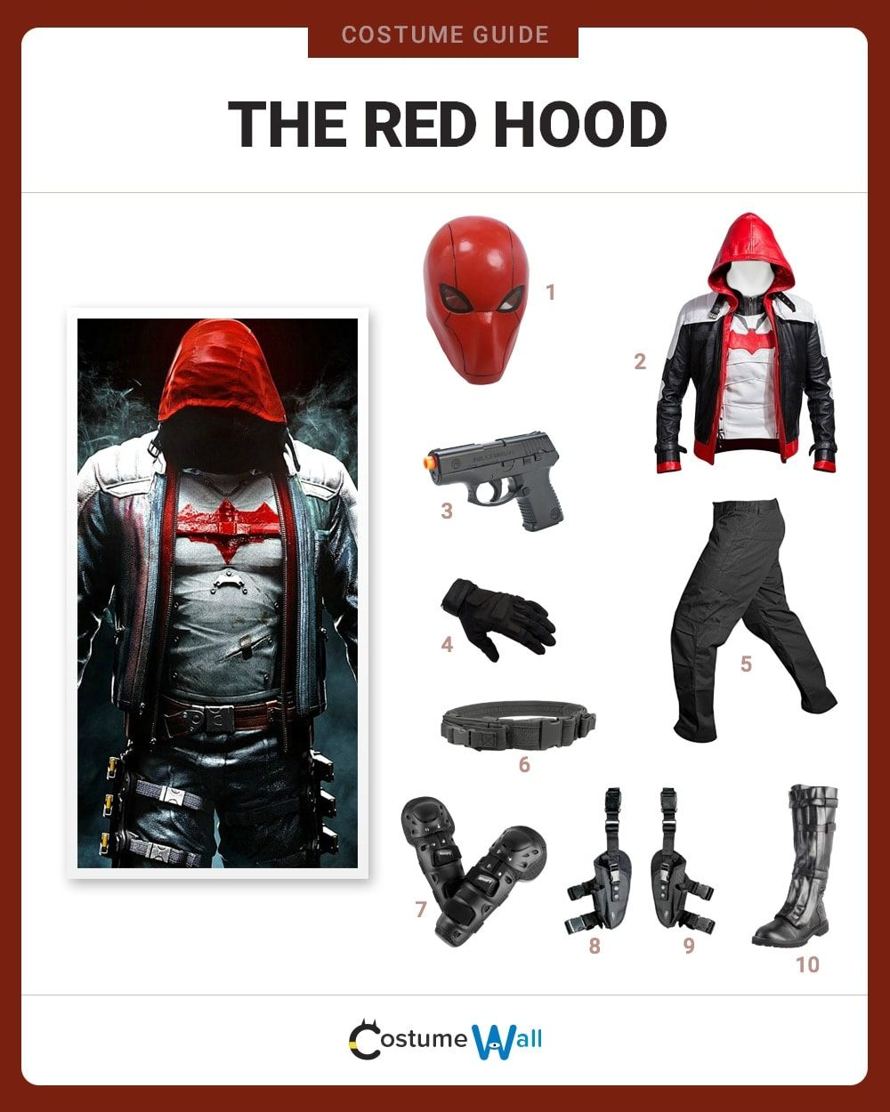 The Red Hood Costume Guide
