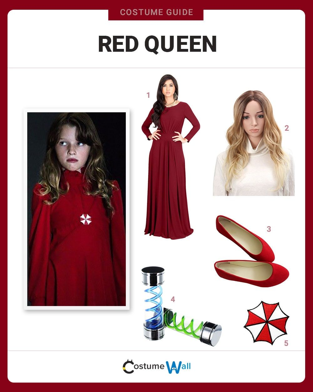 Red Queen Costume Guide