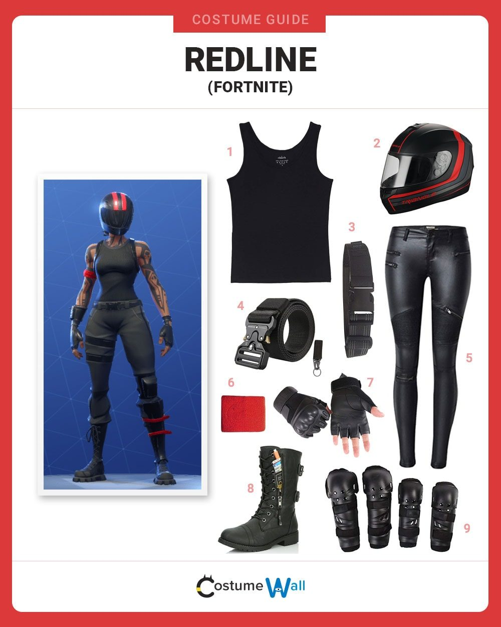 Dress Like Redline From Fortnite Costume Halloween And Cosplay Guides